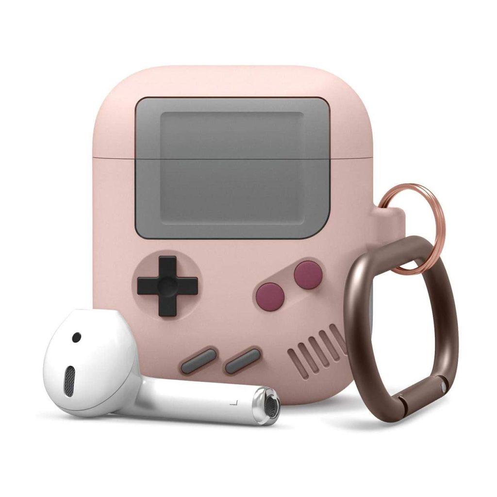 Elago® Retro AW5 EAPAW5-SPK Hang Apple AirPods Case – Pink