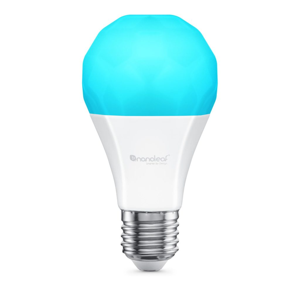 Nanoleaf Essentials E27 | A19 LED 9W 806lm Smart Bulb - 16 Million Colors