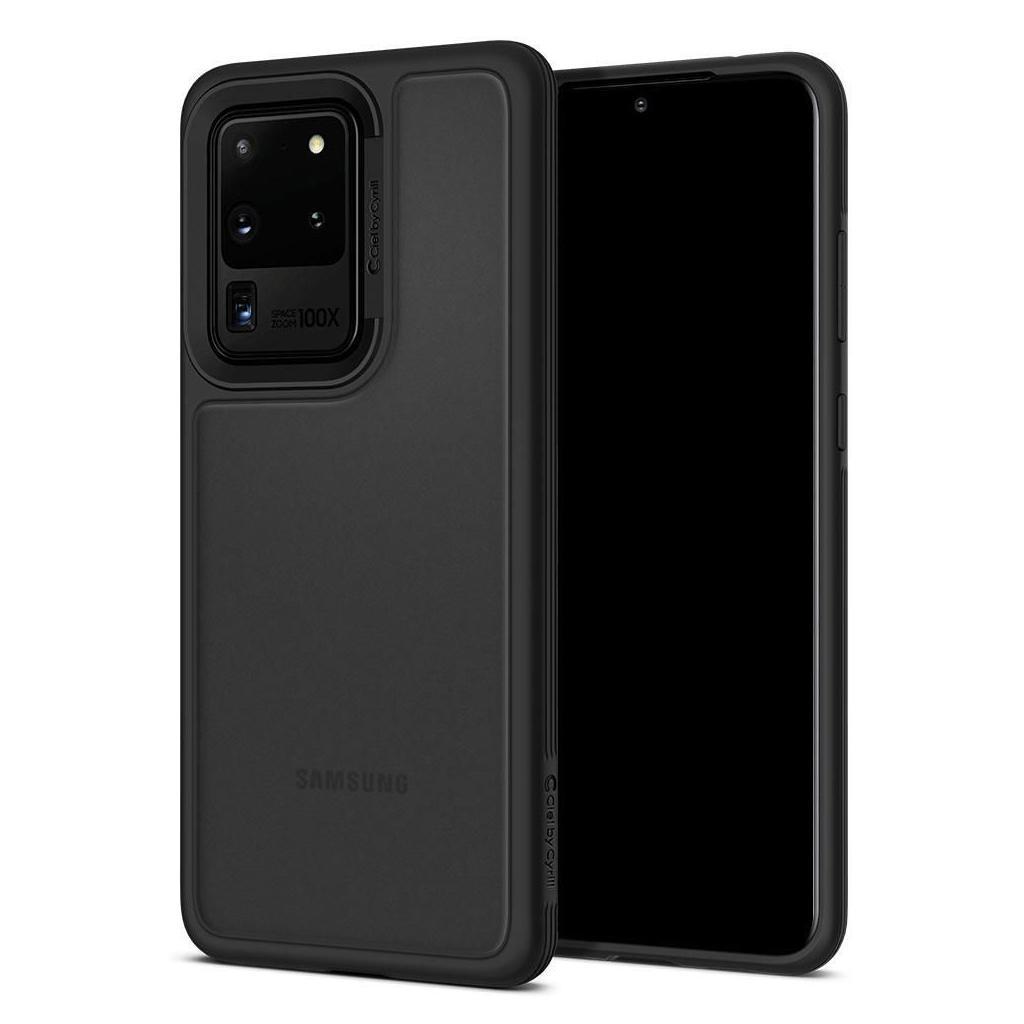 Spigen® Ciel by Cyrill Color Brick Collection ACS00726 Samsung Galaxy S20 Ultra Case – Black