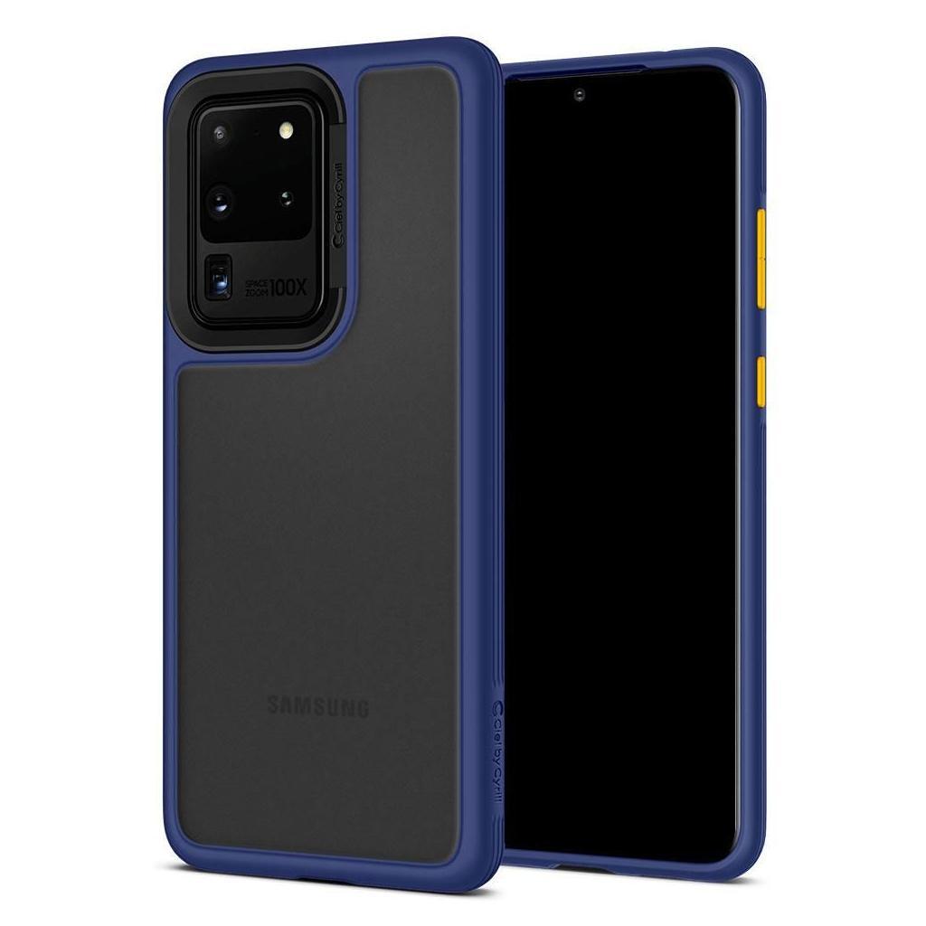 Spigen® Ciel by Cyrill Color Brick Collection ACS00727 Samsung Galaxy S20 Ultra Case – Navy
