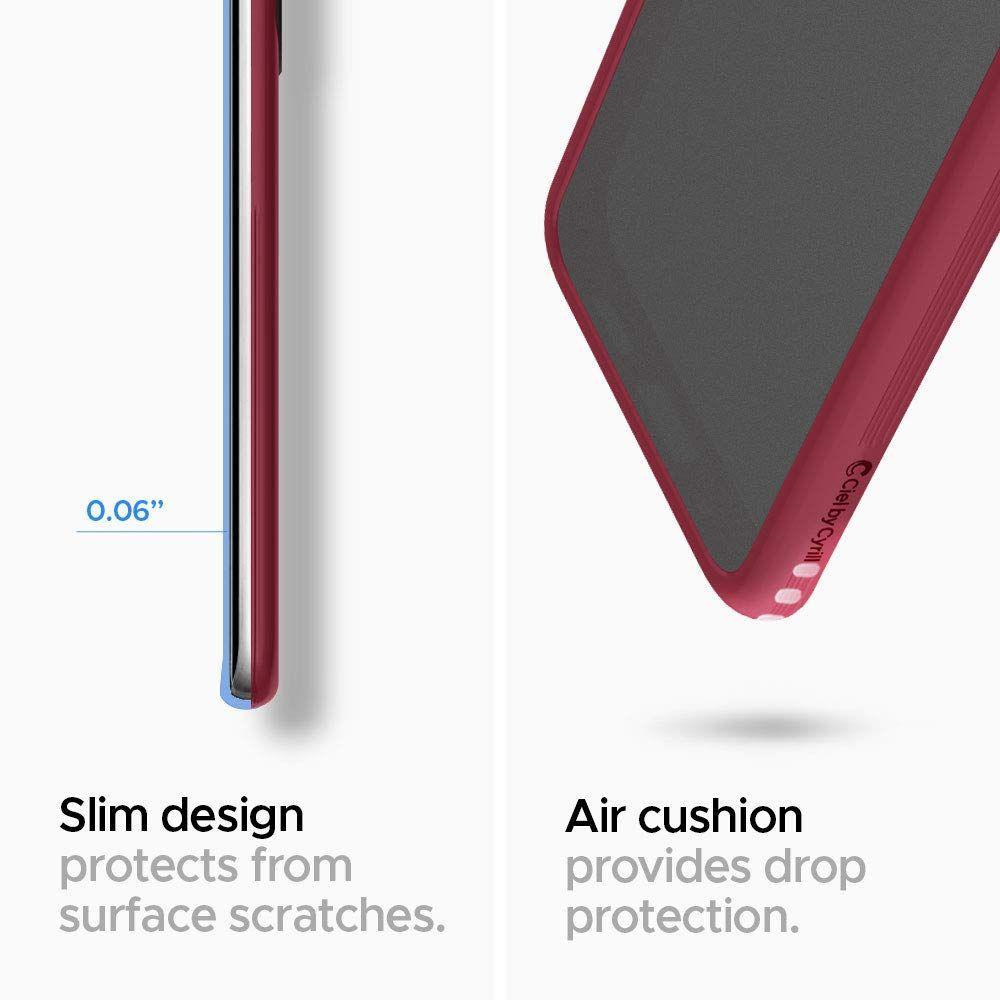 Spigen® Ciel by Cyrill Color Brick Collection ACS00769 Samsung Galaxy S20+ Plus Case – Burgundy
