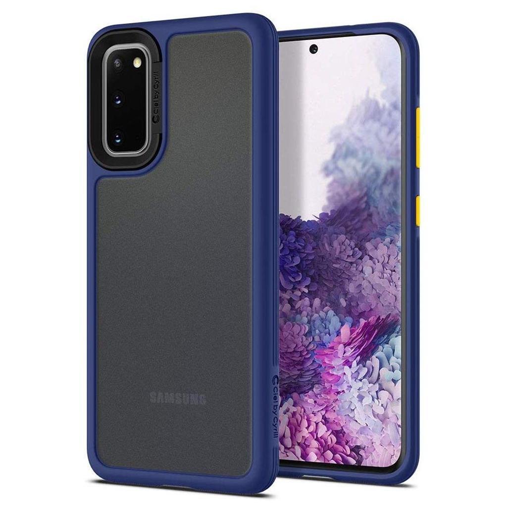 Spigen® Ciel by Cyrill Color Brick Collection ACS00802 Samsung Galaxy S20 Case – Navy