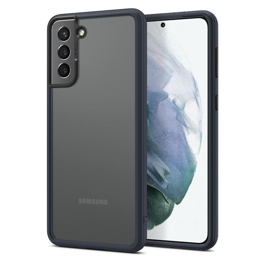 Spigen® Ciel by Cyrill Color Brick Collection ACS02397 Samsung Galaxy S21+ Plus Case – Dark Grey