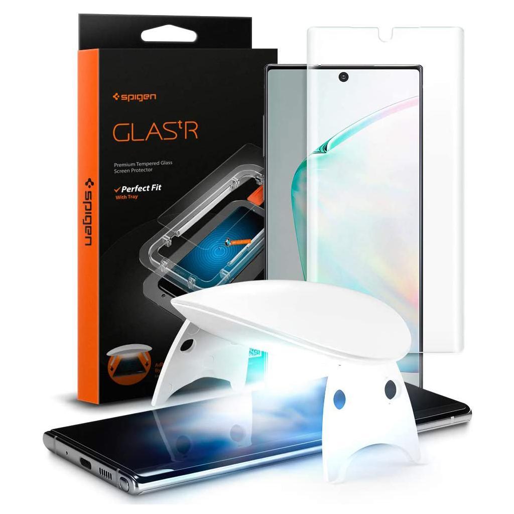 Spigen® GLAS.tR™ Platinum 627GL27613 Samsung Galaxy Note 10+ Plus Premium Tempered Glass Screen Protector