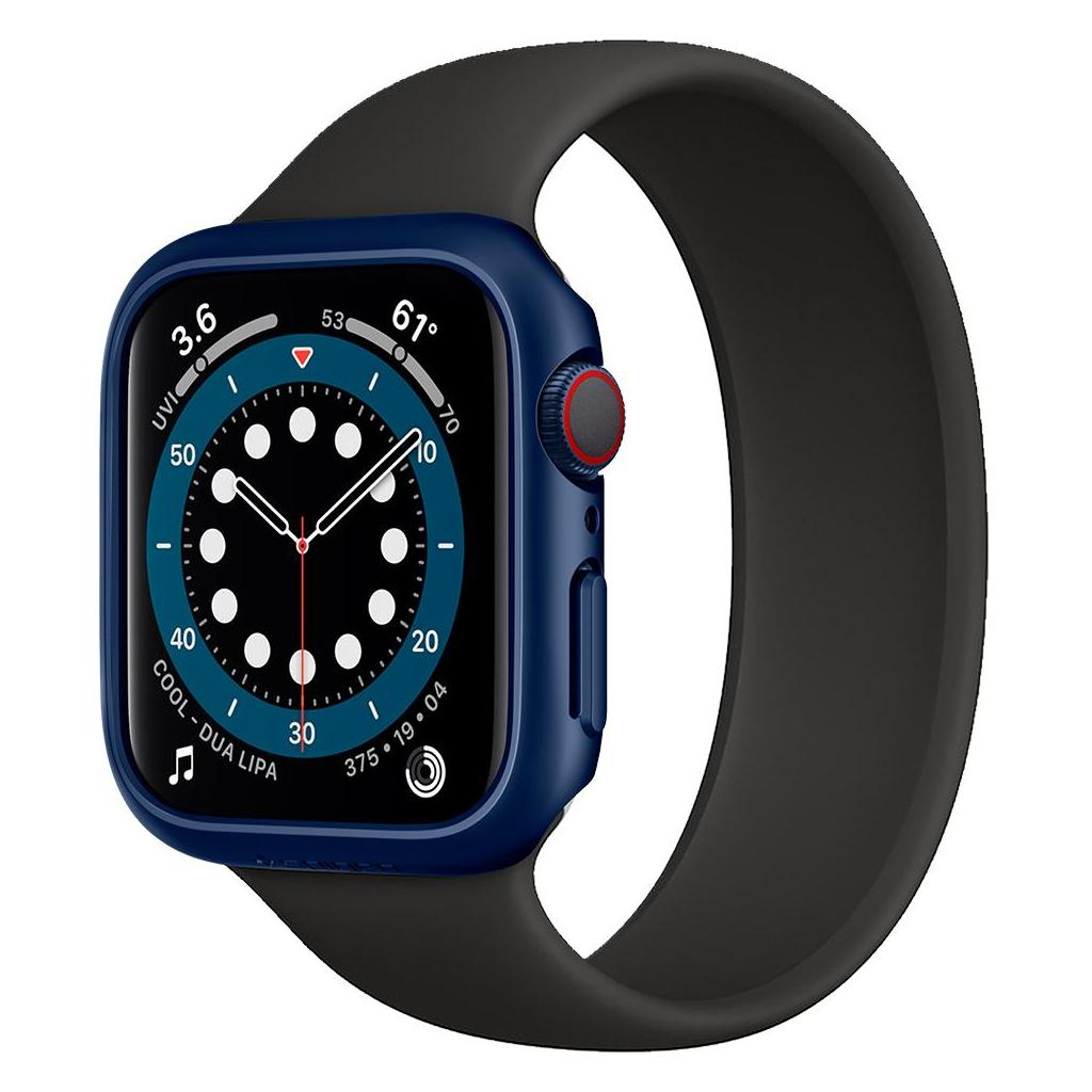 Spigen® Thin Fit™ ACS02226 Apple Watch Series 6 / 5 / 4 / SE (40mm) Case - Metallic Blue