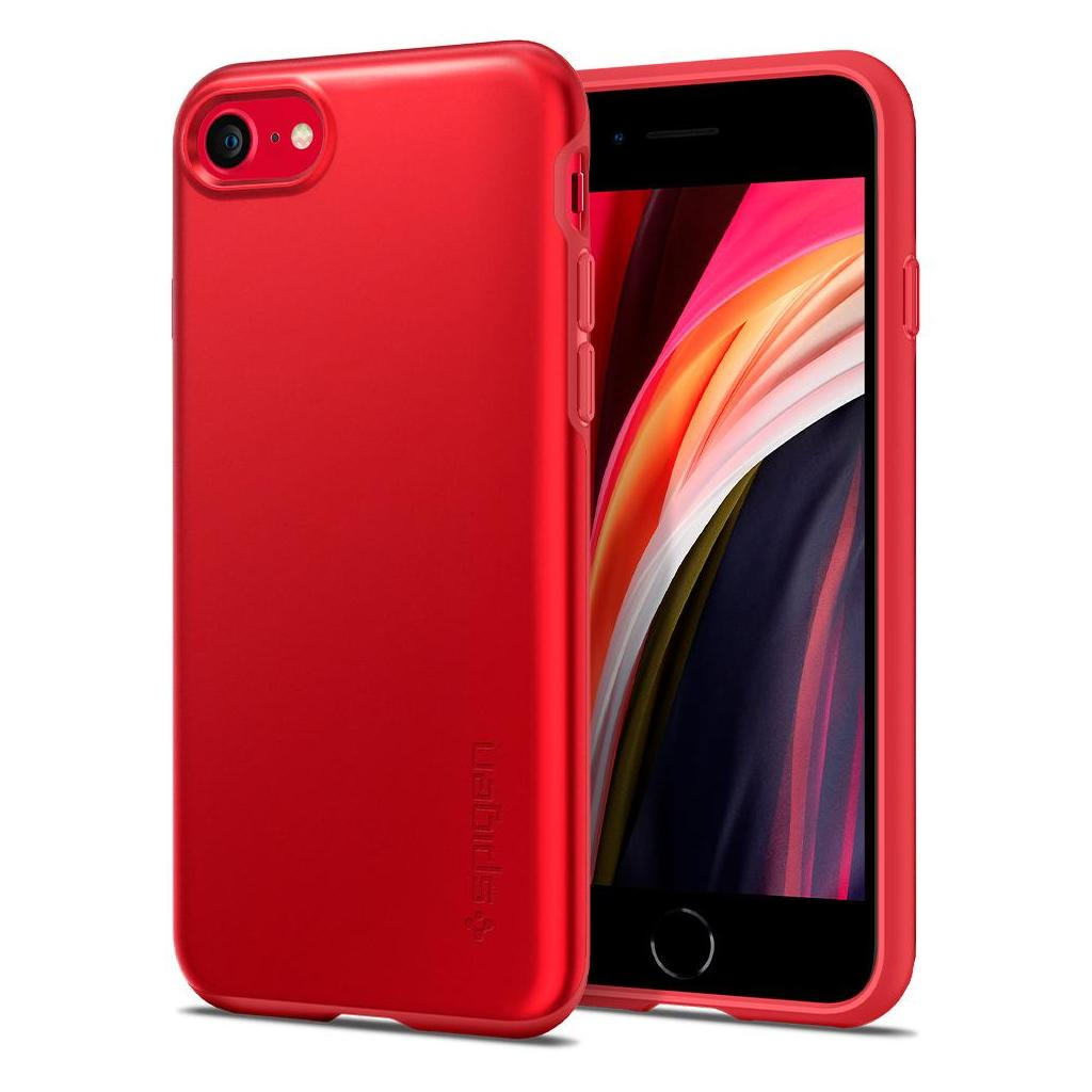 Spigen® Thin Fit™ Pro ACS01340 iPhone SE (2020) / 8 / 7 Case - Red