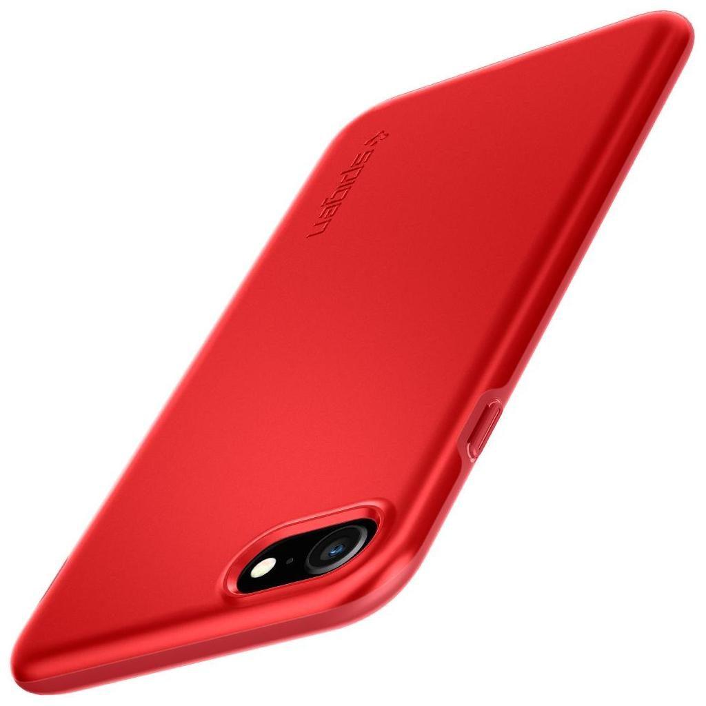 Spigen® Thin Fit™ Pro ACS01340 iPhone SE (2020) / 8 / 7 Case - Red