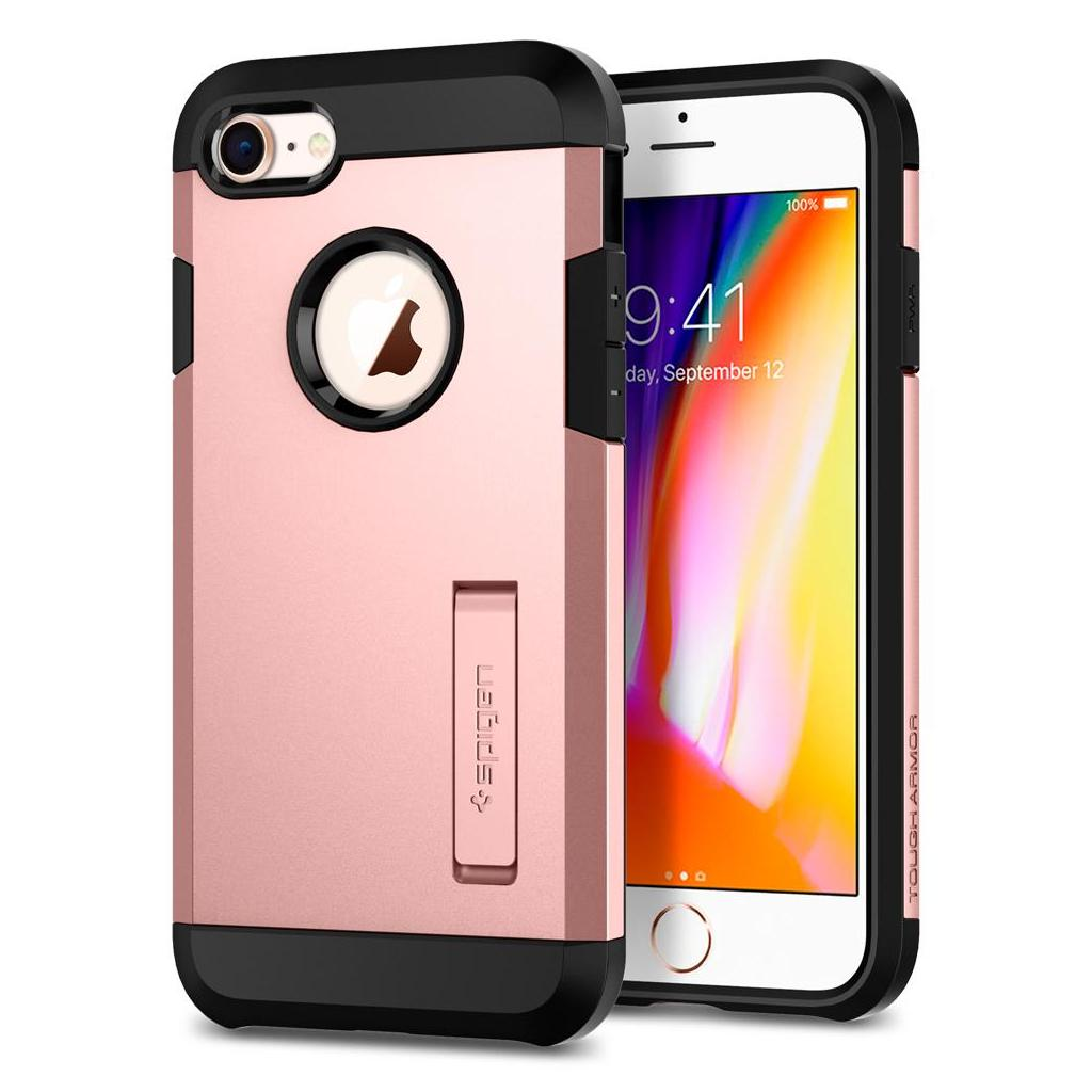 Spigen® Tough Armor™ 2 054CS22215 iPhone 8 / 7 Case - Rose Gold