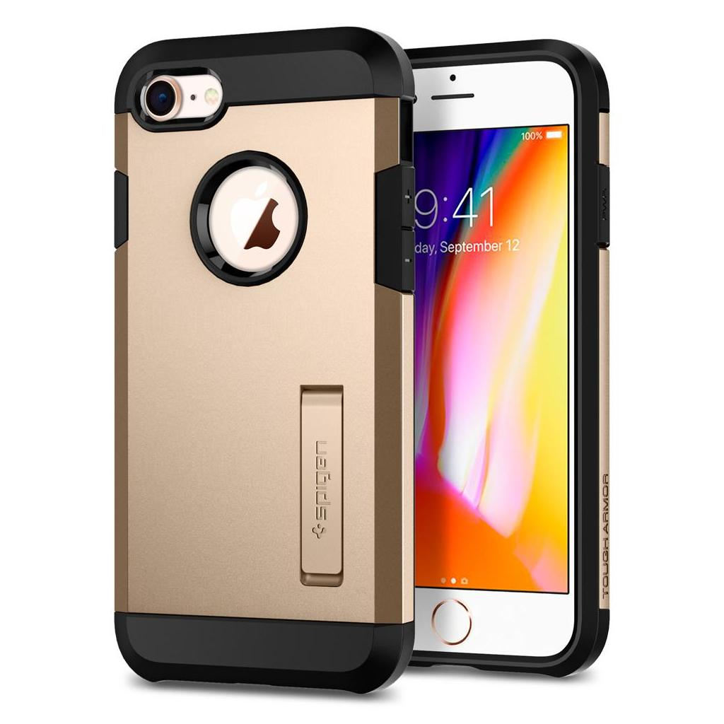Spigen® Tough Armor™ 2 054CS22218 iPhone 8 / 7 Case - Champagne Gold