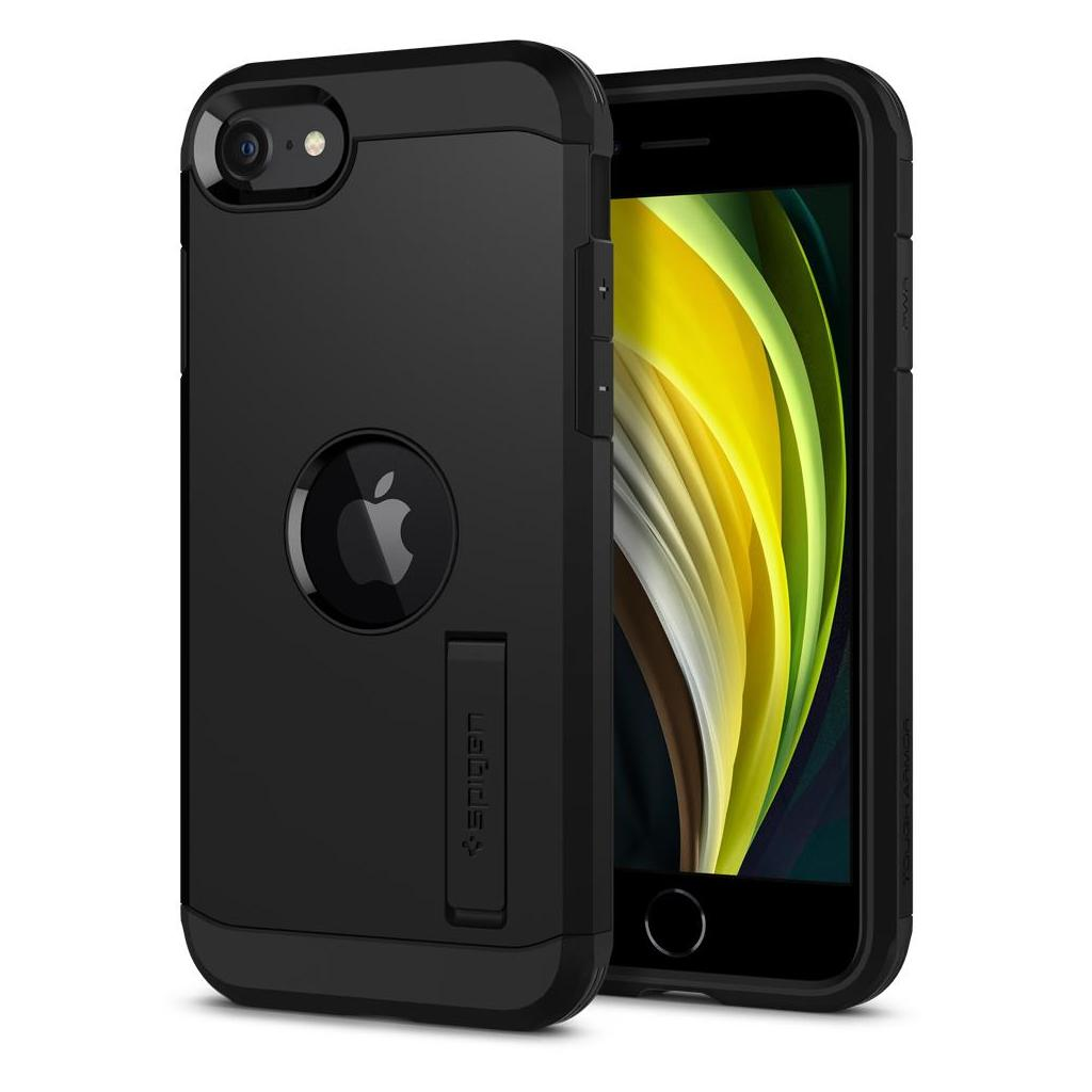 Spigen® Tough Armor™ ACS00950 iPhone SE (2020) Case - Black