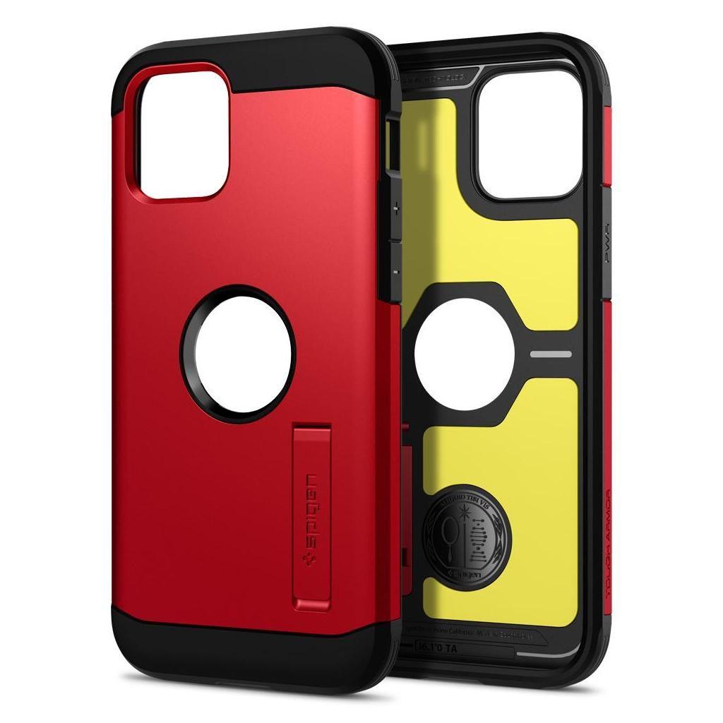 Spigen® Tough Armor™ ACS02253 iPhone 12 / 12 Pro Case - Red