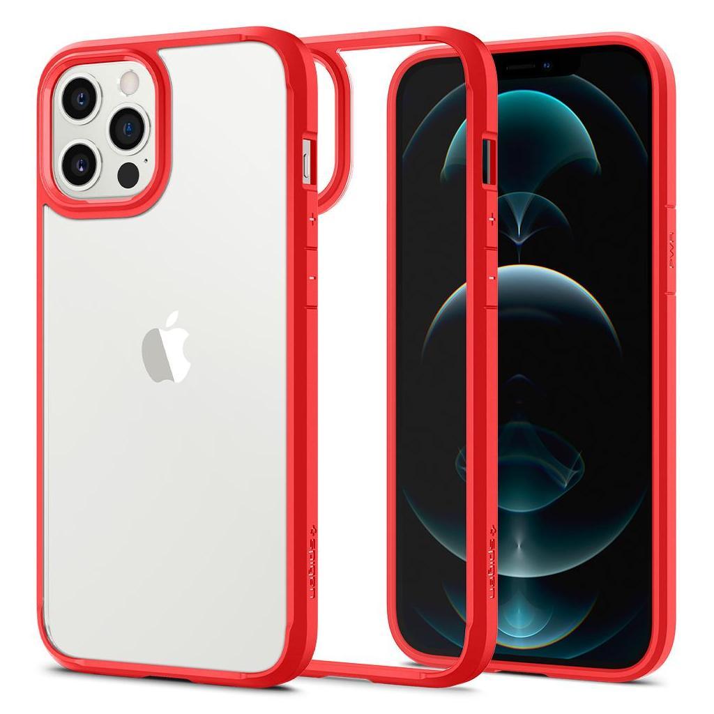 Spigen® Ultra Hybrid™ ACS01620 iPhone 12 Pro Max Case - Red