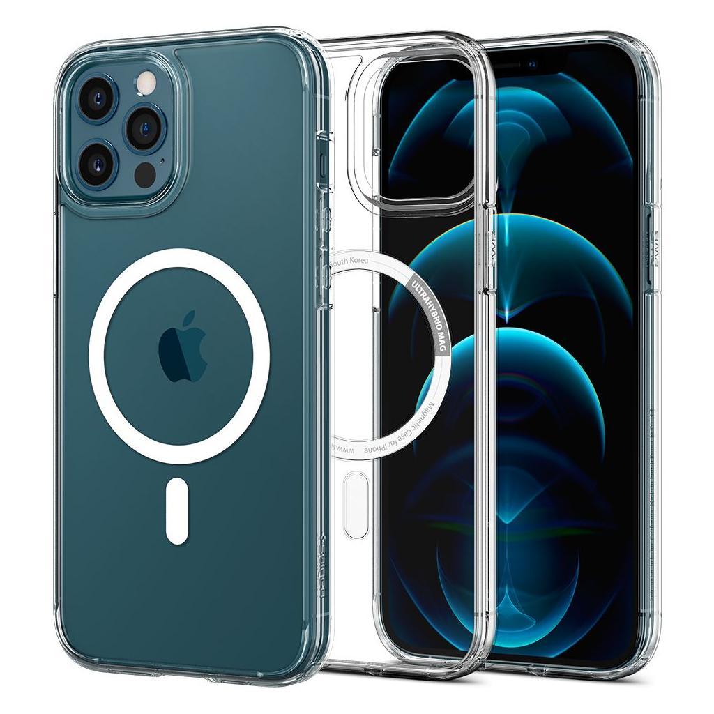 Spigen® Ultra Hybrid™ Mag ACS02625 iPhone 12 / 12 Pro Case - Crystal Clear