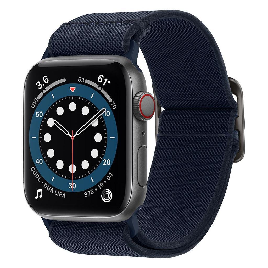 Spigen® Lite Fit AMP02287 Apple Watch Series 44mm / 42mm Band - Navy