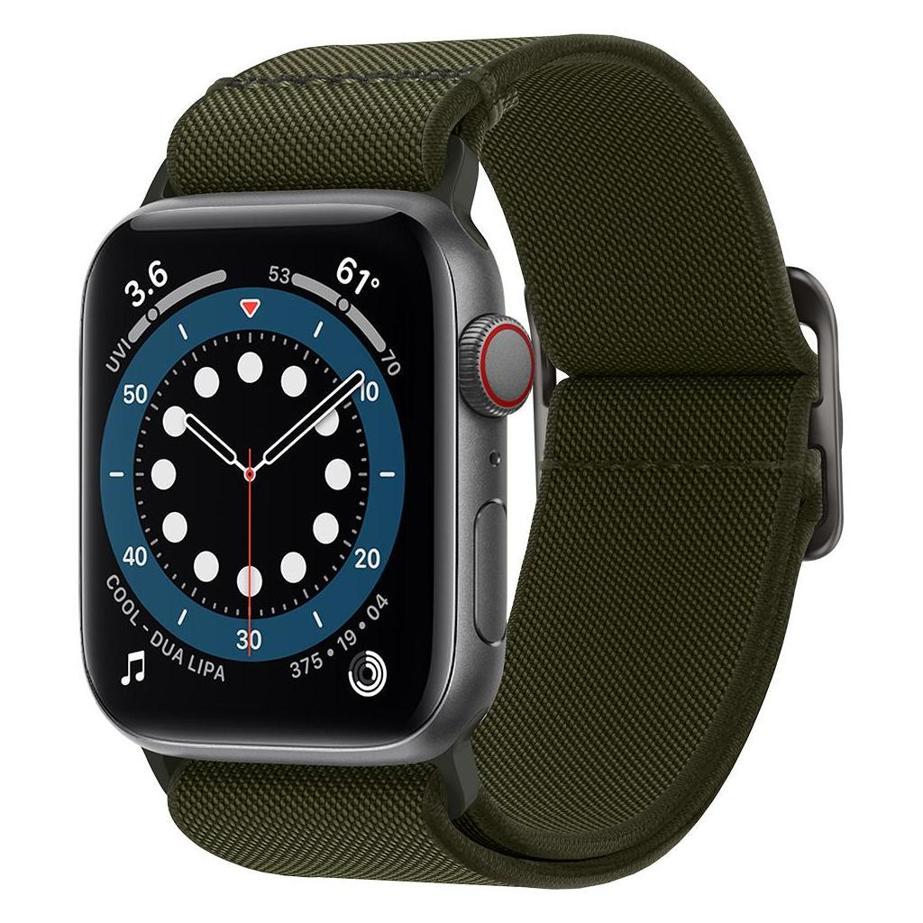 Spigen® Lite Fit AMP02288 Apple Watch Series 44mm / 42mm Band - Khaki