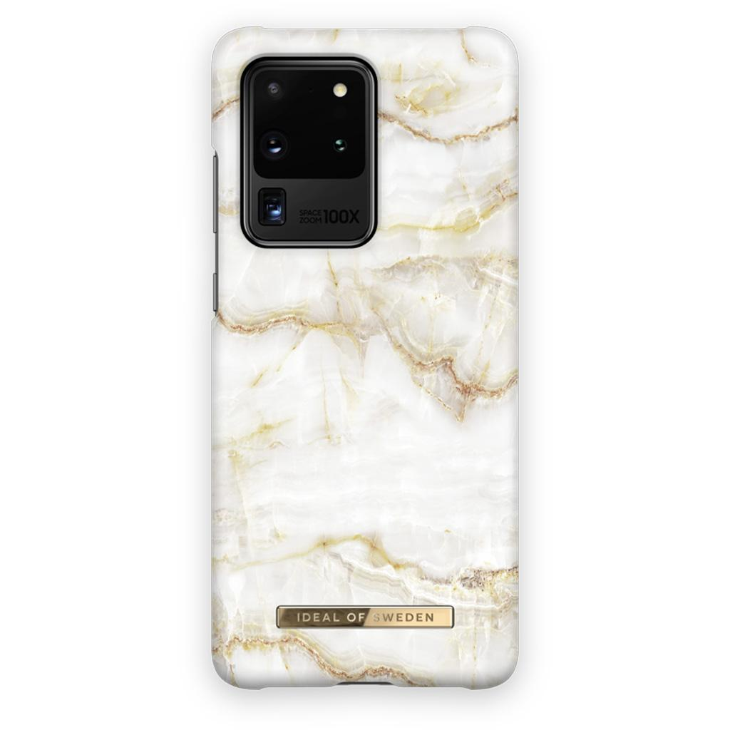 iDeal Of Sweden IDFCSS20-S11P-194 Samsung Galaxy S20 Ultra Case – Golden Pearl Marble