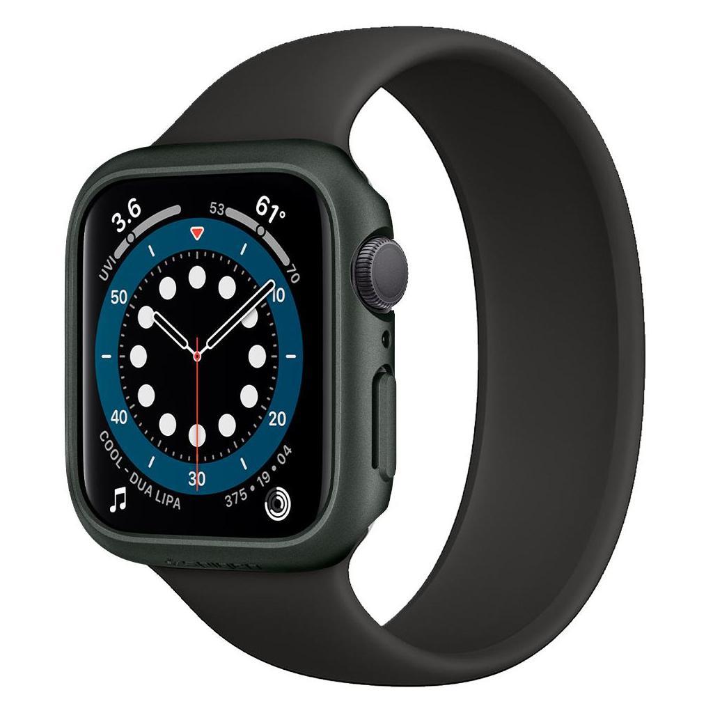 Spigen® Thin Fit™ ACS02000 Apple Watch Series 6 / 5 / 4 / SE (44mm) Case - Military Green