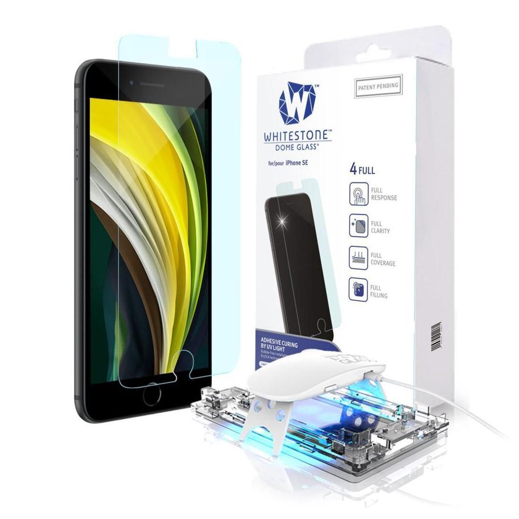 Whitestone™ Dome Glass® iPhone SE (2020) / 8 / 7 Premium Tempered Glass Screen Protector