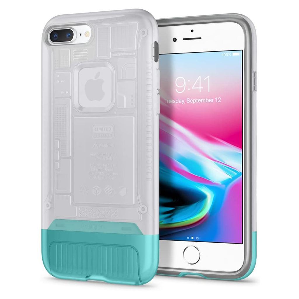 Spigen® Classic C1 055CS24411 iPhone 8 Plus / 7 Plus 10th Year Anniversary Limited Edition Case – Snow