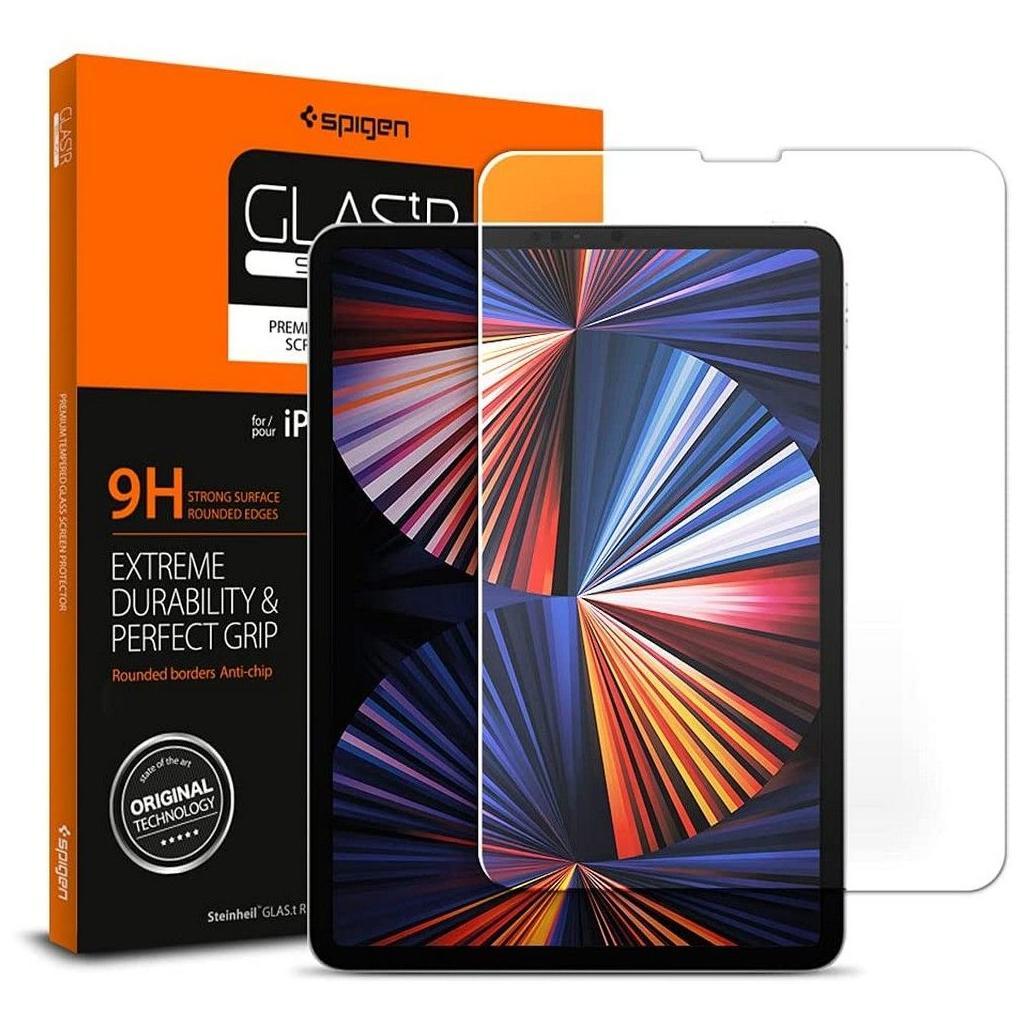 Spigen® GLAS.tR™ 067GL25593 iPad Pro 11-inch Premium Tempered Glass Screen Protector