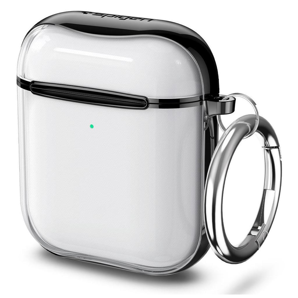 Spigen® Ultra Hybrid™ ASD01300 Apple AirPods Case - Jet Black