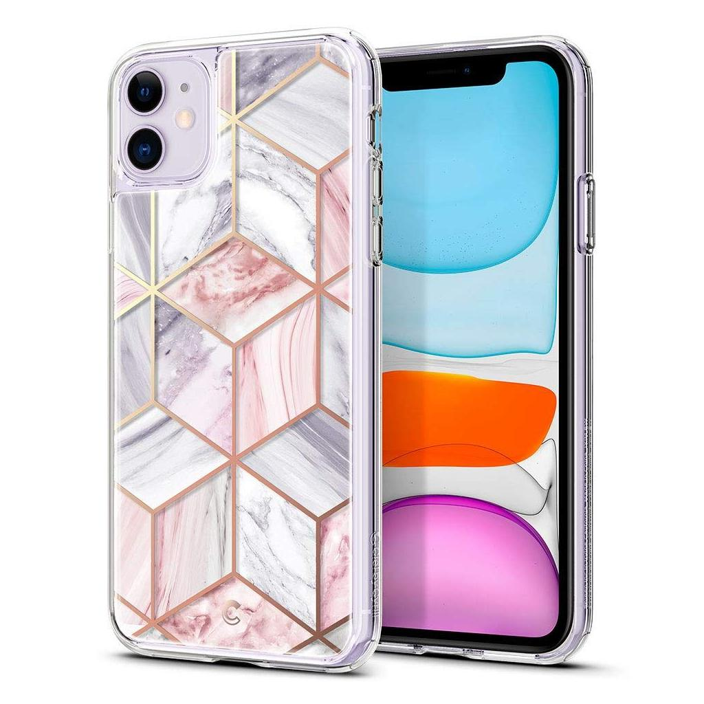 Spigen® Ciel by Cyrill Étoile Collection 076CS27220 iPhone 11 Case - Pink Marble