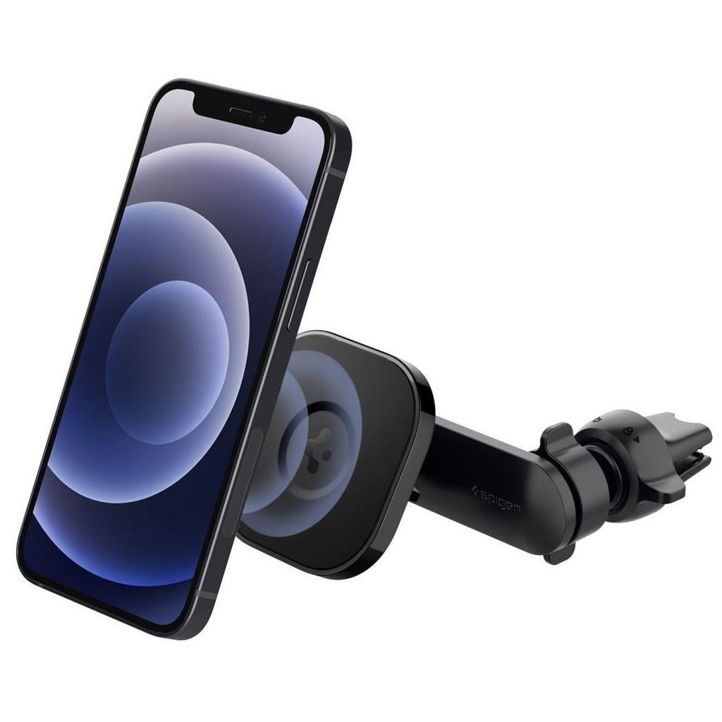 Spigen® OneTap™ ITS12 ACP02617 Magnetic Car Mount MagSafe iPhone Air Vent - Black