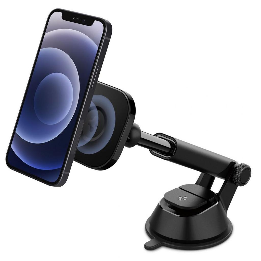 Spigen® OneTap™ ITS35 ACP02618 Magnetic Car Mount MagSafe iPhone Air Dashboard – Black
