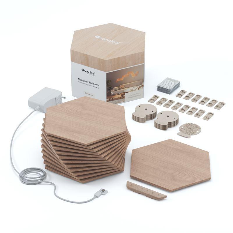 Nanoleaf® Elements Hexagons Smarter Complete Kit – 13 Panels