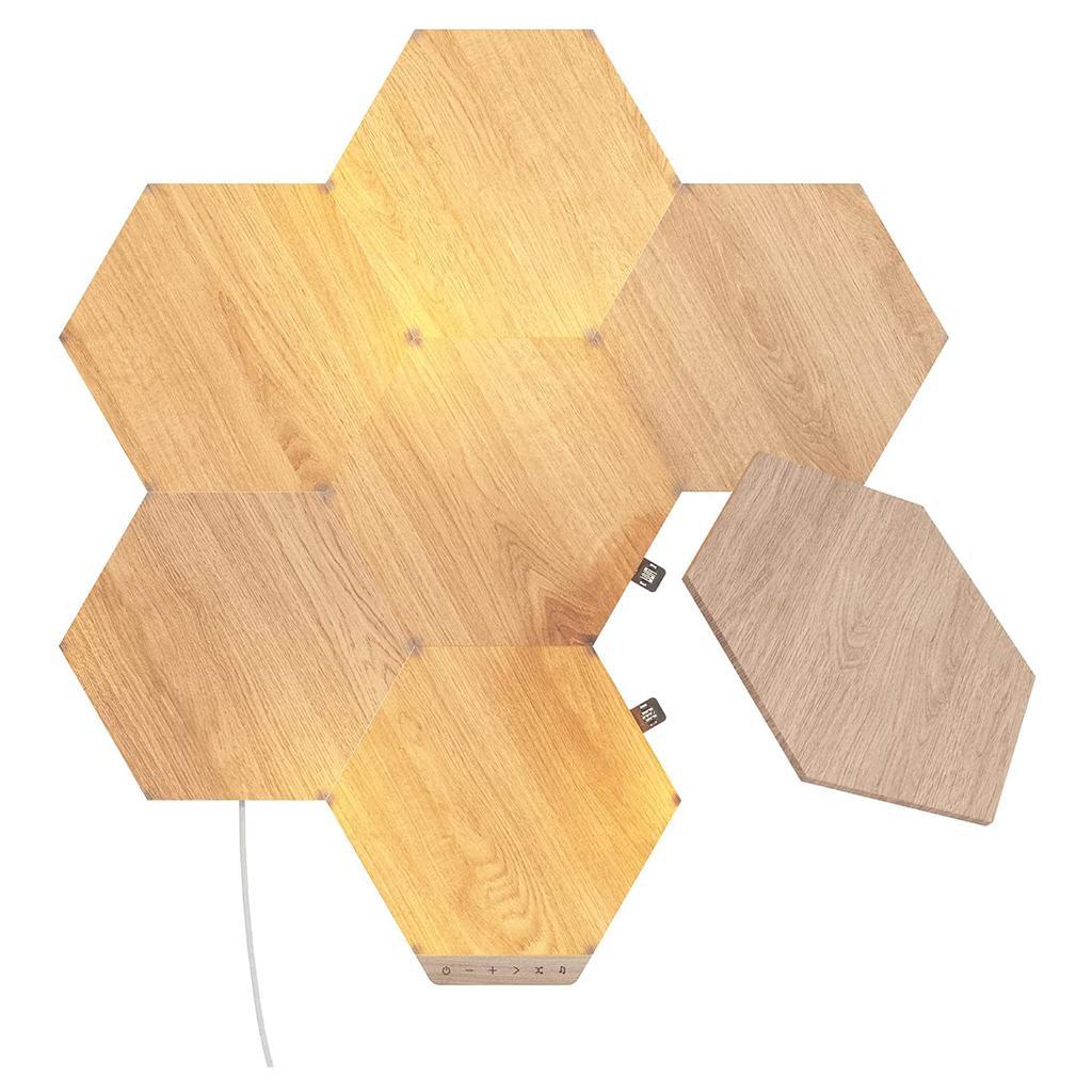 Nanoleaf® Elements Hexagons Smarter Complete Kit – 7 Panels