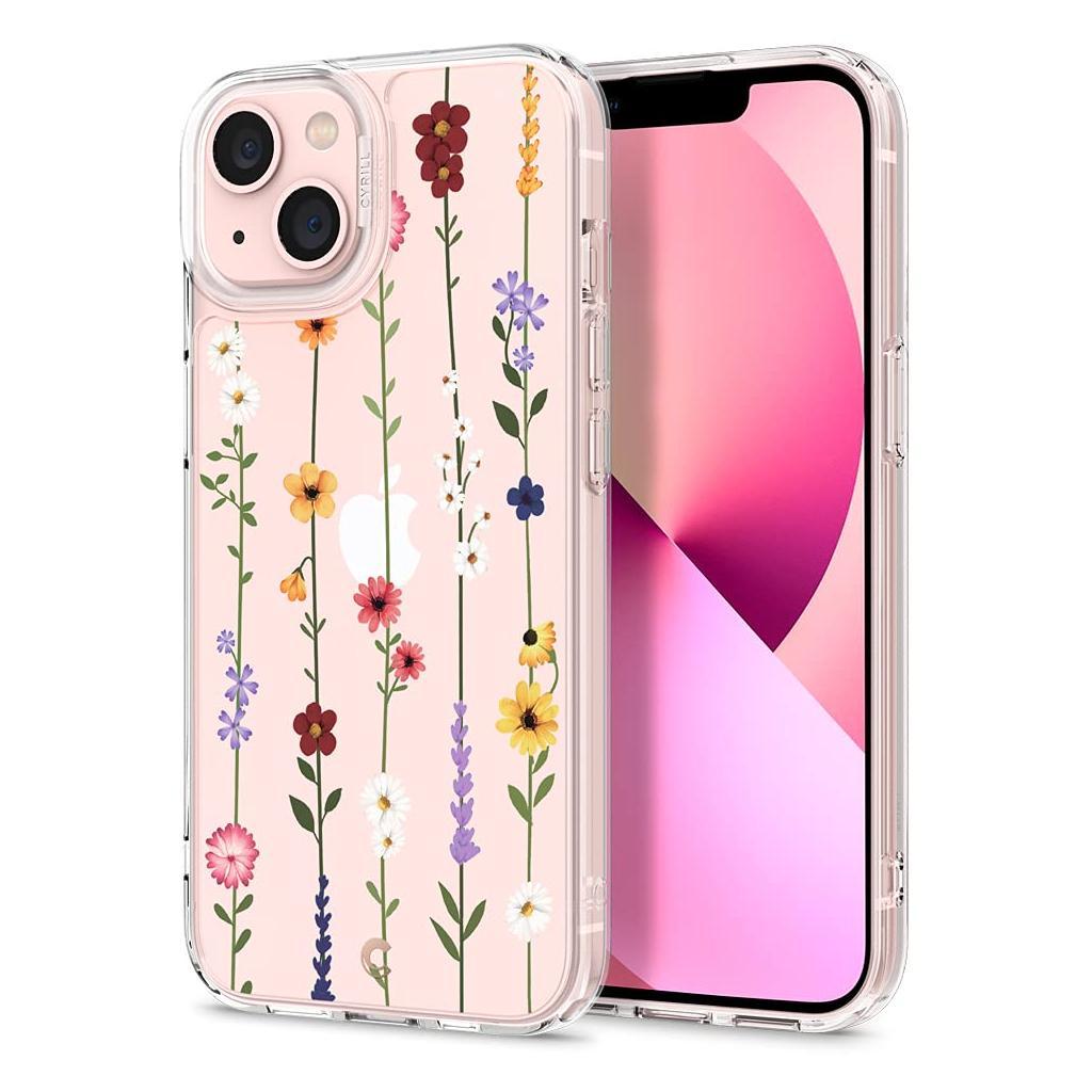 Spigen® Cyrill Cecile Collection ACS03188 iPhone 13 Mini Case – Flower Garden