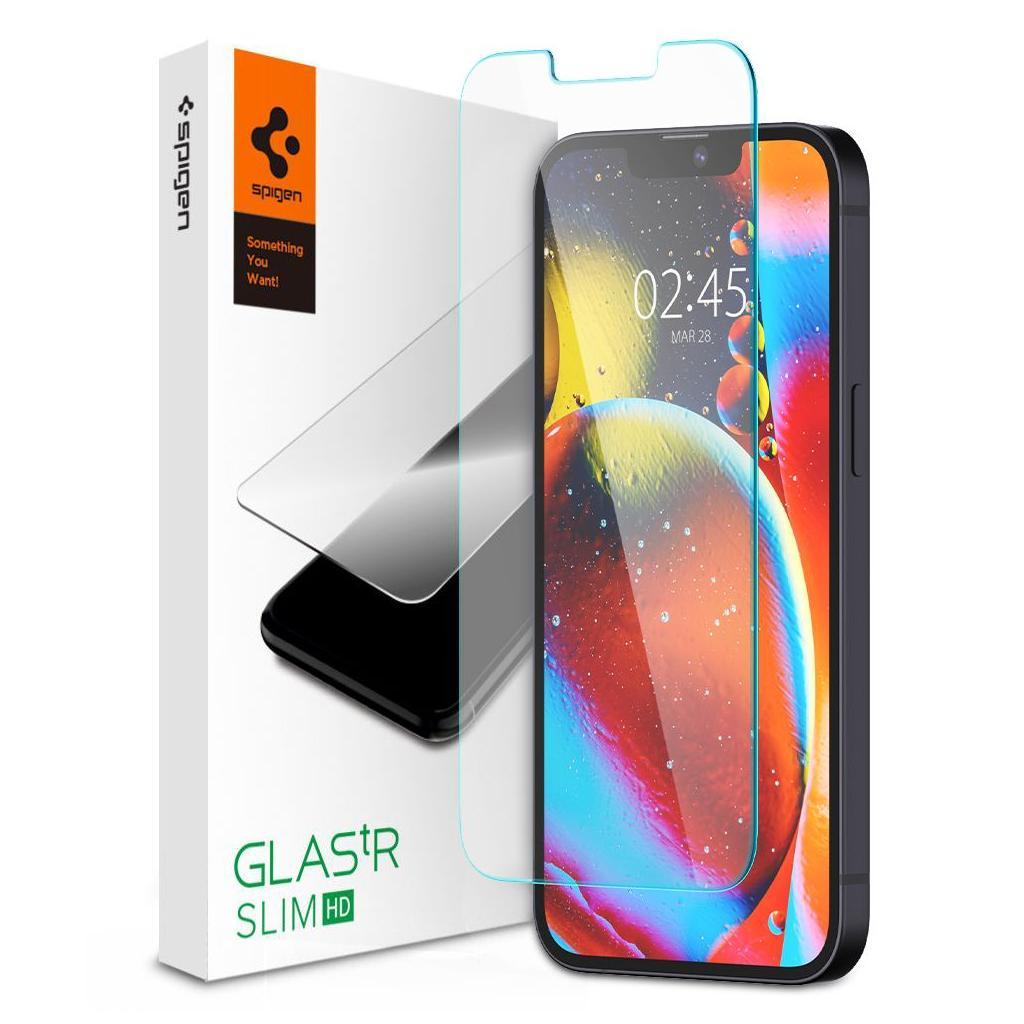 Spigen® GLAS.tR™ HD AGL03403 iPhone 13 Mini Premium Tempered Glass Screen Protector