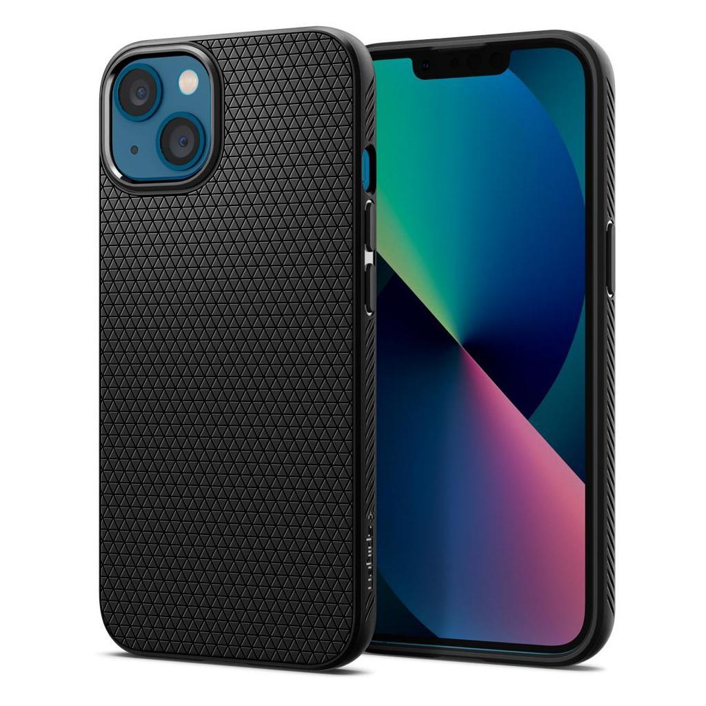 Spigen® Liquid Air™ ACS03315 iPhone 13 Mini Case - Matte Black