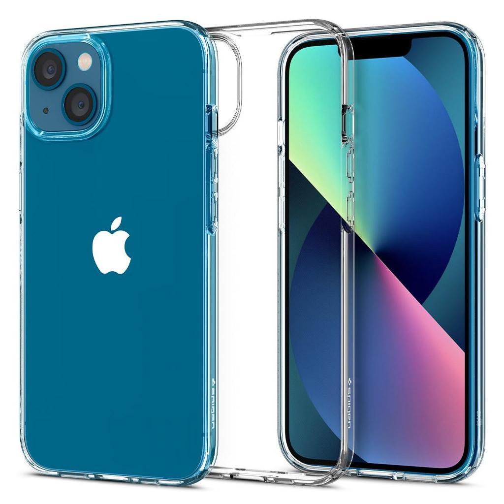 Spigen® Liquid Crystal™ ACS03311 iPhone 13 Mini Case - Crystal Clear