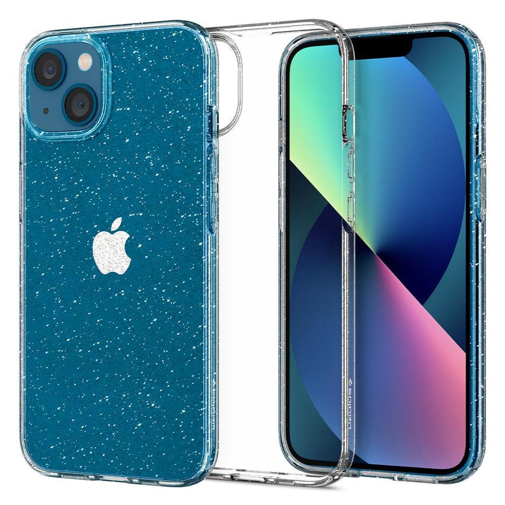 Spigen® Liquid Crystal™ Glitter ACS03312 iPhone 13 Mini Case - Crystal Quartz