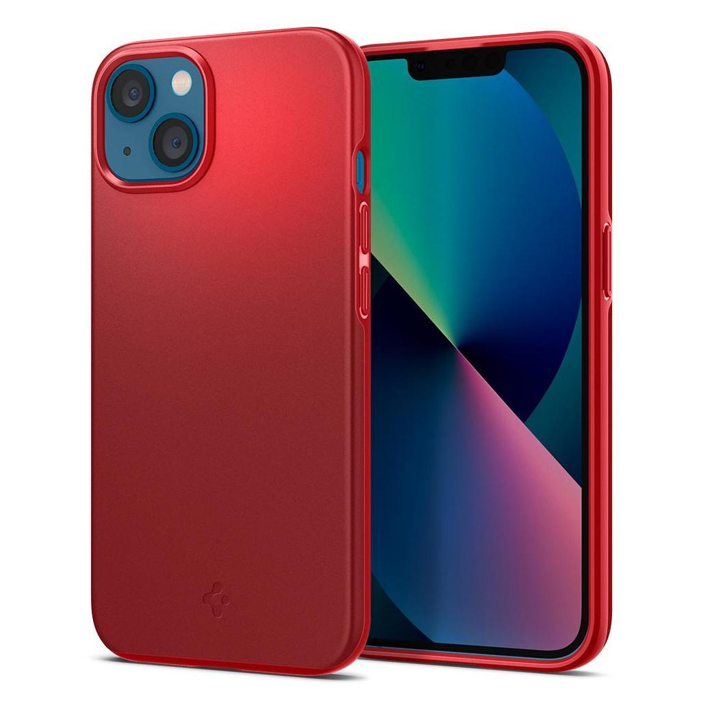 Spigen® Thin Fit™ ACS03306 iPhone 13 Mini Case - Red