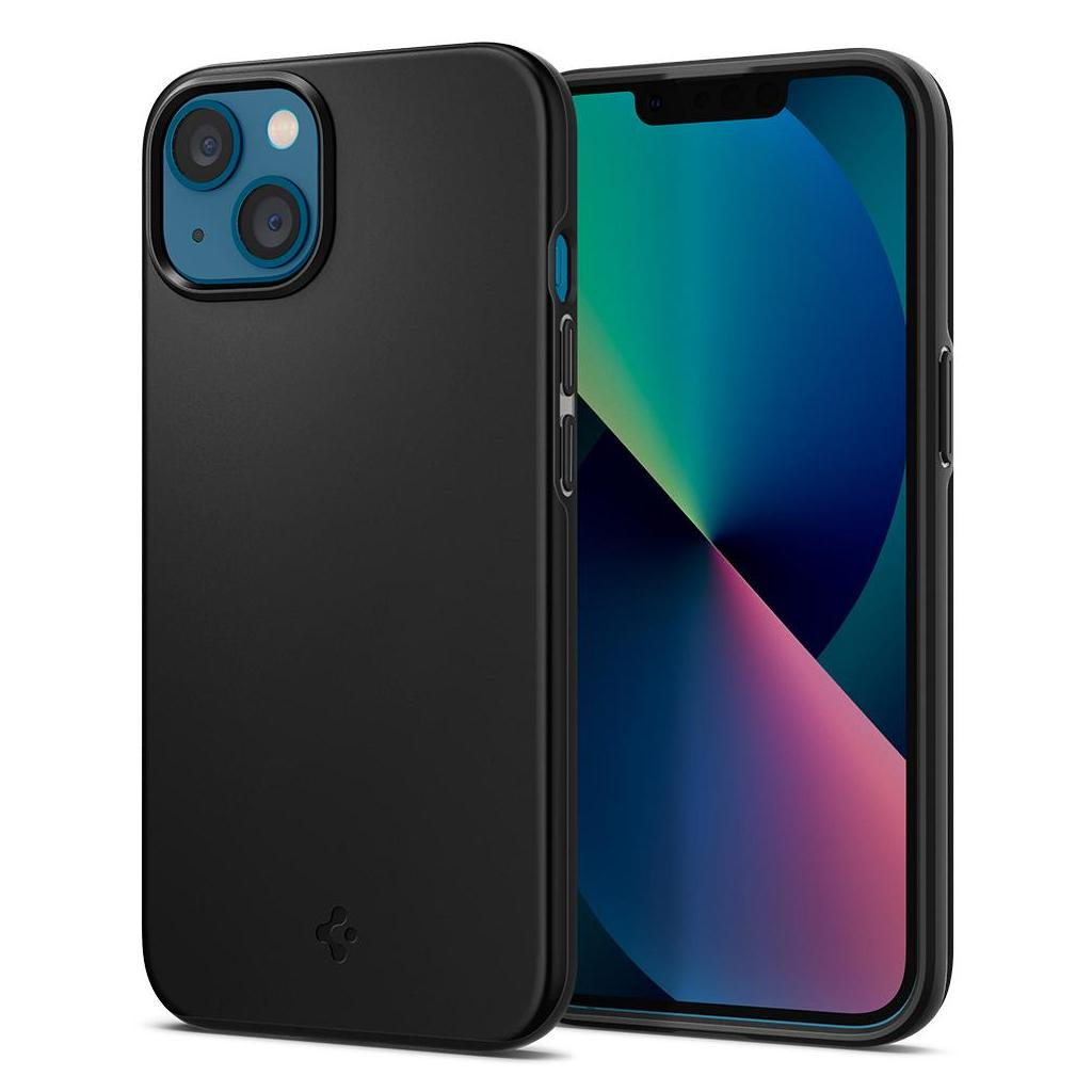 Spigen® Thin Fit™ ACS03678 iPhone 13 Mini Case - Black