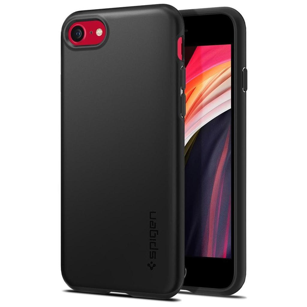 Spigen® Thin Fit™ Pro ACS01339 iPhone SE (2020) / 8 / 7 Case - Black