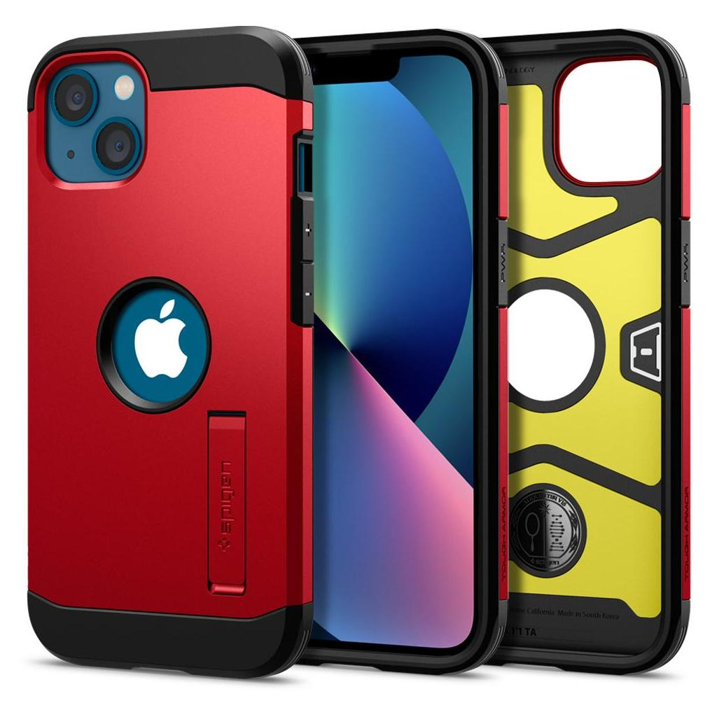 Spigen® Tough Armor™ ACS03332 iPhone 13 Mini Case - Red