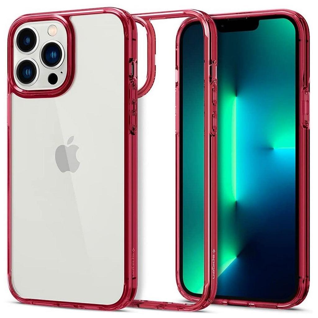 Spigen® Ultra Hybrid™ ACS03263 iPhone 13 Pro Case - Red Crystal