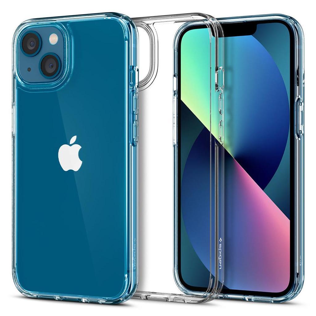 Spigen® Ultra Hybrid™ ACS03317 iPhone 13 Mini Case - Crystal Clear