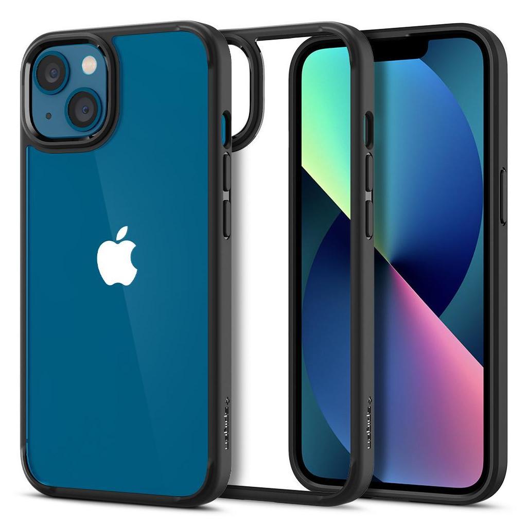Spigen® Ultra Hybrid™ ACS03318 iPhone 13 Mini Case - Matte Black