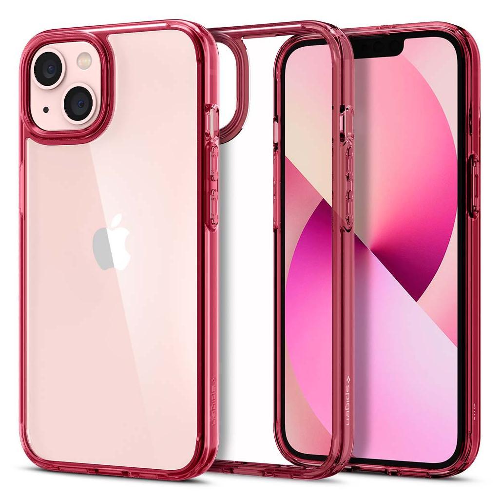 Spigen® Ultra Hybrid™ ACS03524 iPhone 13 Case - Red Crystal
