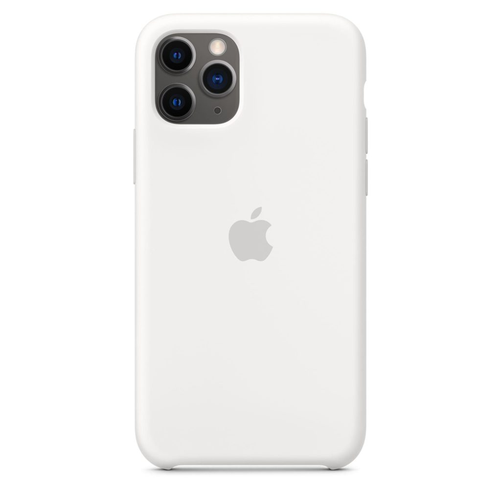 Apple® MWYL2ZM/A iPhone 11 Pro Silicone Case – White