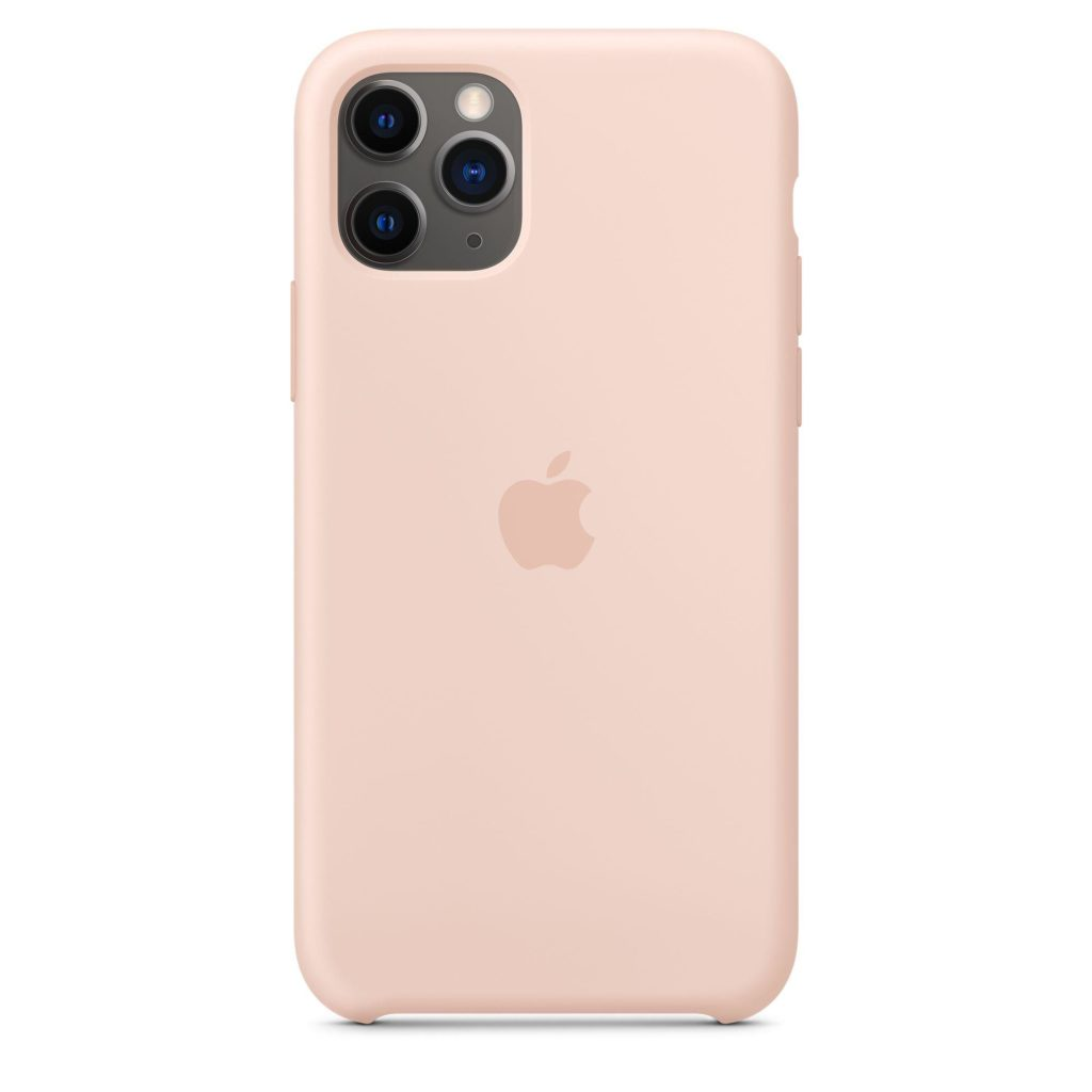 Apple® MWYM2ZM/A iPhone 11 Pro Silicone Case – Pink Sand