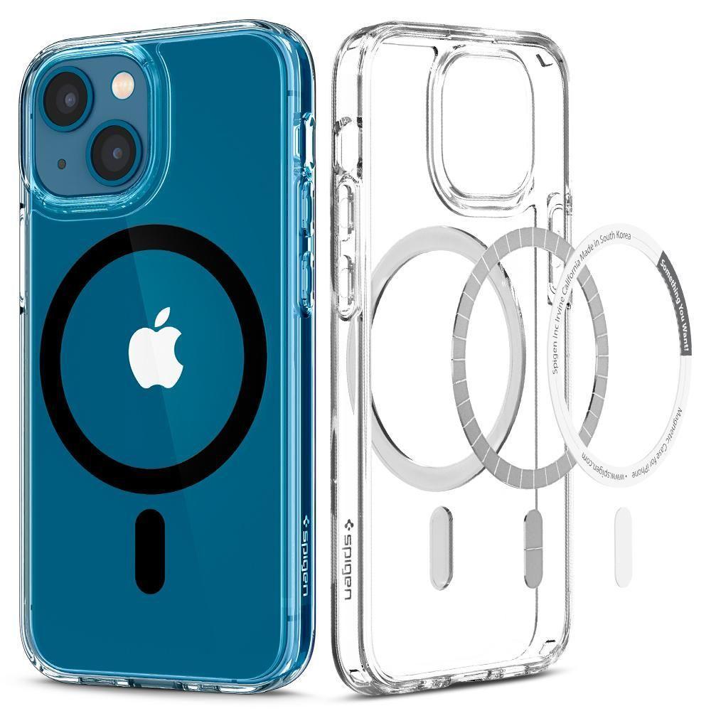 Spigen® Ultra Hybrid™ MagSafe ACS03323 iPhone 13 Mini Case - Black